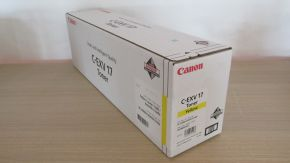 Genuine Canon 0259B002AA C-EXV17 Yellow Toner IRC-4080i 4580i 5185i