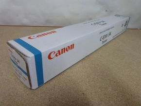 Genuine Canon 3783B002AA C-EXV34 (C-EXV 34) Cyan Toner for iR ADV C2020 C2030