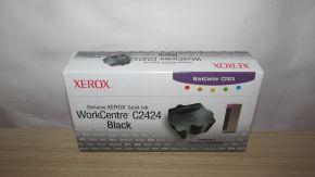 Genuine Xerox WorkCentre C2424 Black Solid Ink 108R00663 (3 sticks)