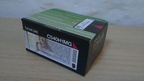 Genuine Lexmark C540H1MG C540 C543 C544 C546 High Yield Magenta Toner