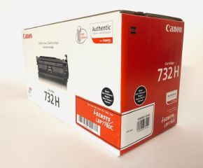 Genuine Canon 732H 6264B011(AA) Black Toner Cartridge LBP7780C