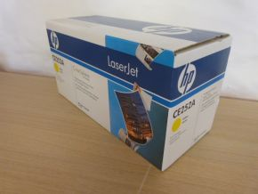 Genuine HP 504A CE252A CP3525 CP3525 Yellow Print Toner Cartridge