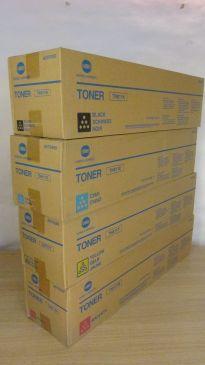 Genuine Konica Minolta TN611K TN611M TN611Y TN611C Toner Set CMYK