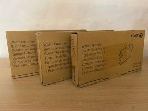 LOT of 3 Genuine Xerox 108R01416 Waste Toner Cartridge