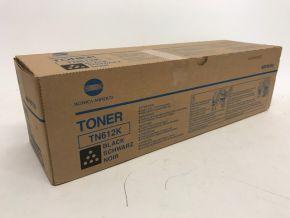 Genuine Konica Minolta Black Toner Cartridge TN612K A0VW150