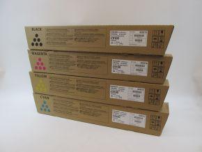 Genuine Ricoh C9100 CMYK Toner Set 828314 828315 828316 828317