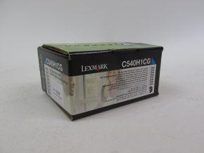 Genuine Lexmark C540H1CG C540 C543 C544 C546 High Yield CyanToner