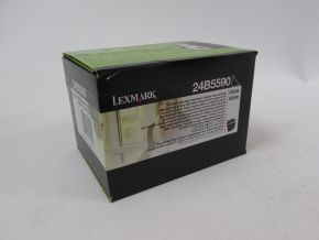 Genuine Lexmark 24B5590 Black Toner XS544 XS548 B GRADE