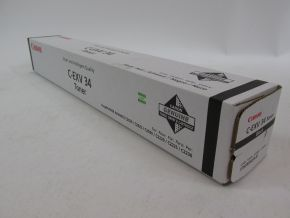 Genuine Canon 3782B002AA C-EXV34 (C-EXV 34) Black Toner for iR ADV C2020 C2030