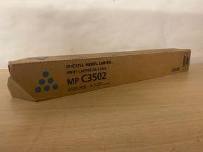 Genuine Ricoh / Savin MP C3502 Cyan Toner Cartridge