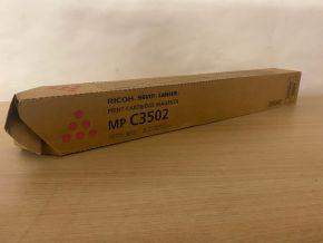 Genuine Ricoh / Savin MP C3502 Magenta Toner Cartridge