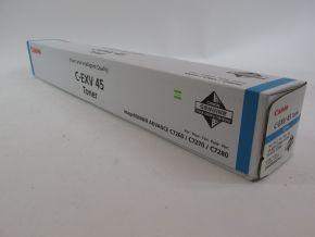 Genuine Canon C-EXV45 Cyan Toner iR ADV C7260/C7270/C7280