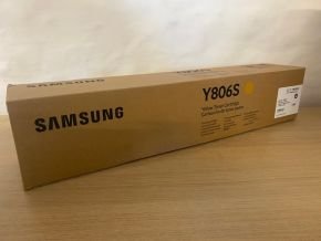 Genuine Samsung CLT-Y806S / ELS Yellow Toner