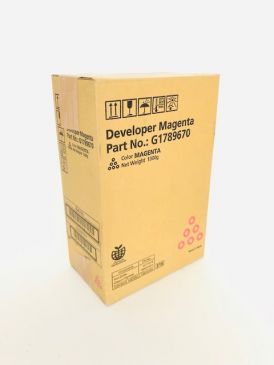 Genuine Ricoh G1789670  Magenta Developer Pro C900 / C900s / C720 / C720s