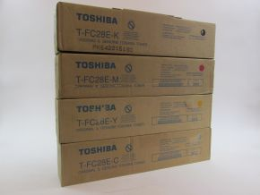 Genuine Toshiba T-FC25E E-studio 2040C 2540C 3040C 3540C 4540C Toner Set CMYK