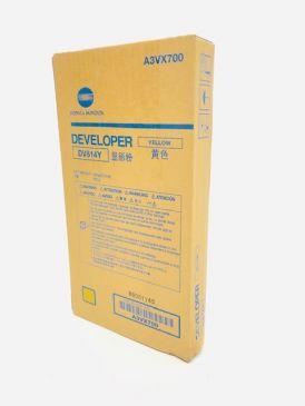 Genuine Konica Minolta DV614Y Yellow Developer A3VX700