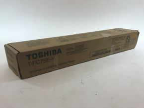 Genuine Toshiba T-FC75E-Y Yellow Toner