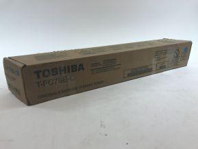 Genuine Toshiba T-FC75E-C Cyan Toner