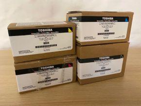 Genuine Toshiba T-FC338 Toner Set - CMYK eStudio 338 / 388