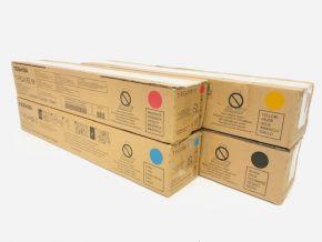 Genuine Toshiba e-STUDIO T-FC415E Toner Set CMYK
