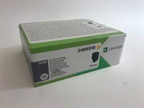 Genuine Lexmark 24B6518 Yellow Toner C4150