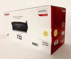 Genuine Canon 732H 6260B002(AA) Yellow Toner Cartridge LBP7780C