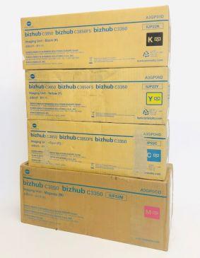 Genuine Konica Minolta Bizhub C3850 IUP22K Image Unit Set CMYK