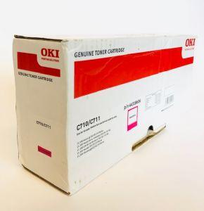 Genuine OKI C710 / C711 Magenta Toner 44318606