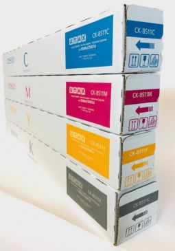 Genuine UTAX CK-8511 Full Toner Set CMYK 2506ci / 2507ci