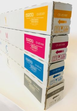 Genuine UTAX CK-8514 Full Toner Set CMYK 5006ci / 5007ci / 6006ci / 6007ci