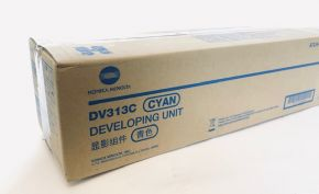 Genuine Konica Minolta DV313C Cyan Developing Unit A7U4-0KD B-Grade