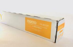 Genuine UTAX CK-8513Y Yellow Toner 1T02RMAUT1 4006ci