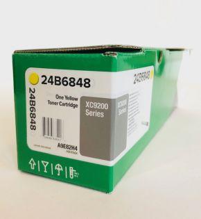 Genuine Lexmark 24B6848 Yellow Toner XC9200