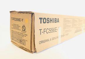 Genuine Toshiba T-FC556E-Y Yellow Toner - E-studio 5506AC