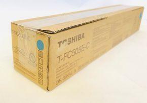 Genuine Toshiba T-FC505E-C Cyan Toner - E-studio 2505AC