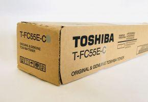Genuine Toshiba T-FC55E-C Cyan Toner