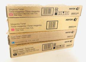 Lot of 4 Genuine Xerox WorkCentre 7120 Toner B-GRADE