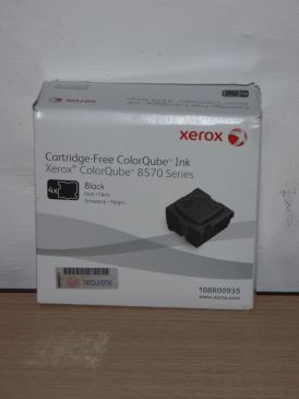 Genuine Xerox ColorQube Ink 8570 108R00935 Black 4 Sticks B-Grade