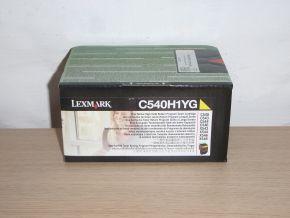 Genuine Lexmark C540H1YG C540 C543 C544 C546 High Yield Yellow Toner