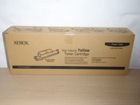 Genuine Xerox High Capacity Phaser 6360 Yellow 106R01220 Toner