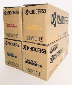 Genuine Kyocera TK-5280 Toner Set CMYK ECOSYS M6235cidn